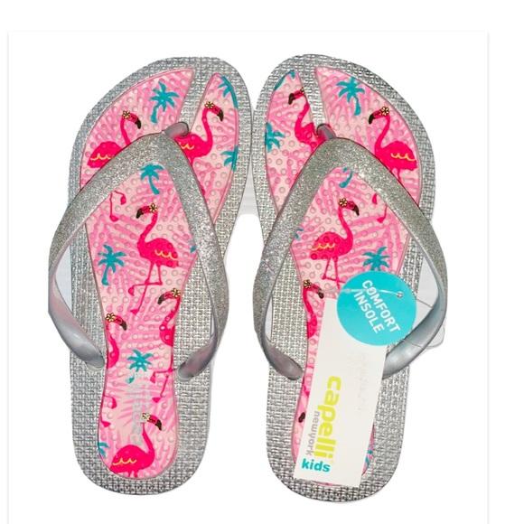 362f937d27aa Capelli Silver Flamingo Jelly Flip Flop